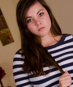 Alexis Naiomi Striped Teen