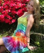 Alisa Kiss Rainbow Dress