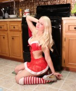 Alisa Kiss Santa Cookies