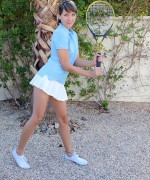 Andi Land Naked Tennis