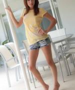 Ashley Doll Jean Shorts