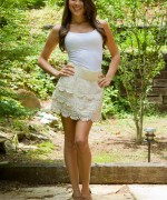 Brittany Marie Beige Skirt