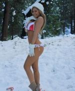 Brooke Lima snow bunny