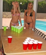 Brook Marks Foru Girl Strip Beer Pong