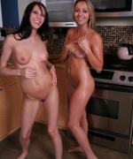Brooke Marks naked with Misty Gates