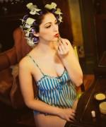 Carlotta Champagne Sensual Salon