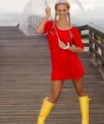 Cherie DeVille Rain Boots