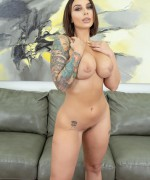 Cherry Pimps Ivy Lebelle Pics as she strips naked and fucks herself with a magic wand