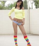 Destiny Moody Rainbow Socks
