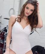 Emelia Paige White Bodysuit