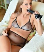 FTV Milfs Kinuski shows off her stunning naughty milf body