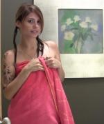 Hailey Leigh shower