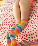 Hailey Leigh Striped Socks