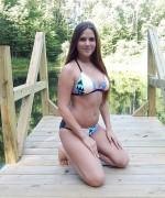 Kaley Kade Sexy At Lake