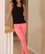 Karen Dreams Bright Pink Pants