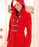 Karen Dreams red coat