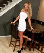 Kendra Rain White Dress Fun