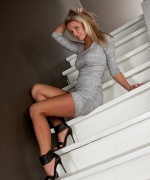 Kendra Rain grey dress