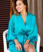Lacey Banghard Blue Robe