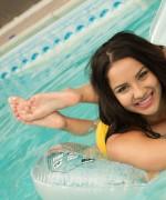 Lacey Banghard Pool Fun