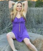 Lily Xo Purple Dress
