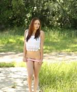 Lily Xo Pink Panty Tease
