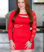 Lucy Ohara Tight Red Dress