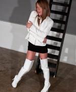 Meet Madden White Boots
