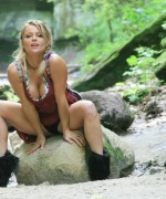 Maddn and her friend got hikig and her friend is just as sexy as she also teases her tight body while they are hiking