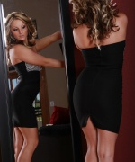 Melissa XoXo high heels and mirror