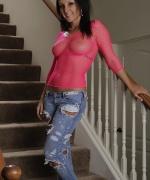 Melissa XoXo pink mesh