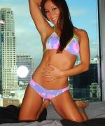 Midori West penthouse bikini babe