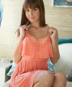 Miss Chrissy Marie Orange Dress