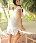 Natalia Spice white dress