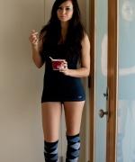 Natasha Belle knee high socks