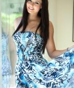 Natasha Belle blue dress