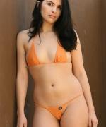 Next Door Models Cassandra Orange