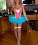 Nikki Sims Rainbow Corset