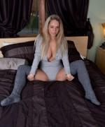 Nikki Sims Grey Jumpsuit