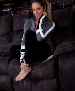 Nikki Sims Black Yoga