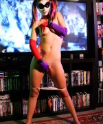 Bailey Knox Harley Quinn Zip as the new joker movie gets released as does bailey cosplay od Harley Quinn