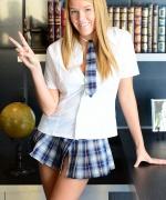 Sophia Winters Schoolgirl Cum