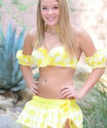 Sophia Winters Yellow Two Piece