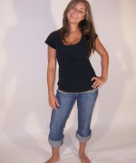 Step 1 Models Ally Jeans