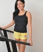 Sweet Krissy yellow shorts