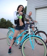 Teen Fidelity Belle Knox Bike Ridin