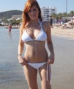 U Got It Flaunt It Rosie White Bikini