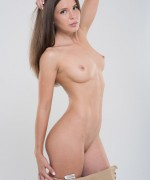 The casting pictures of Lika as she teases her nude body and shaven pussy , we are hoping to see more of her.
