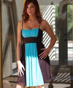 Zellys Jayden Cole drops her dress