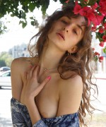 Vivi Kuanas Topless pictures as this beauty flashes her boobs